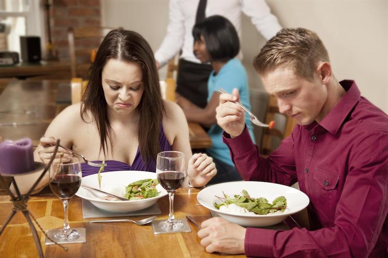 bad restaurant customers