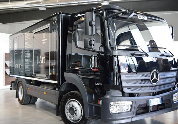 Camion ecoline nero